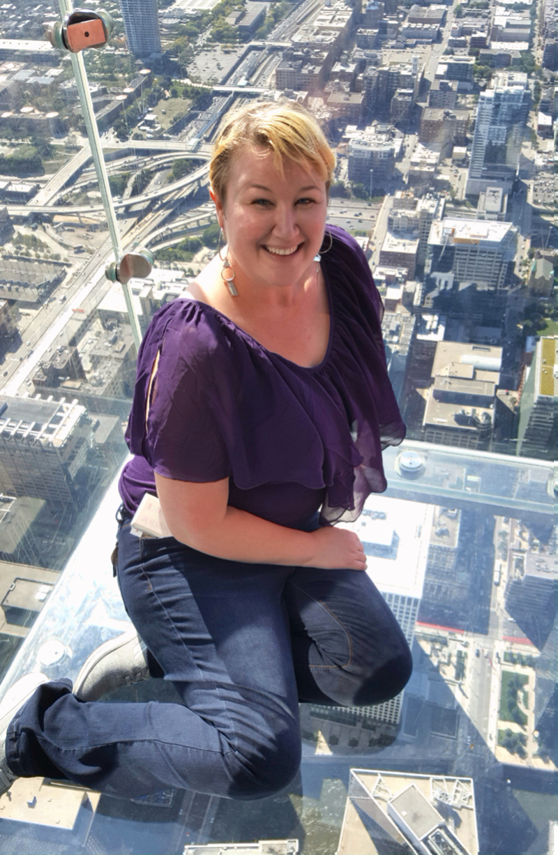I'm fucking terrified of heights, so this is what I did